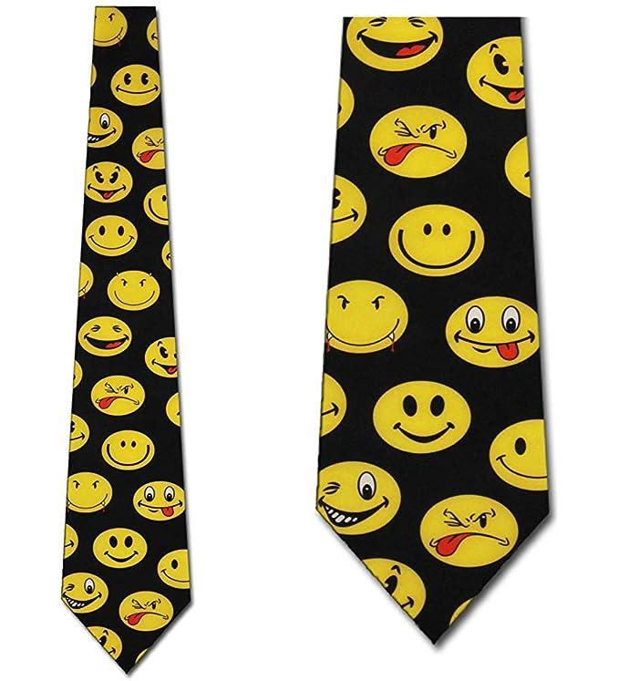 Corbata Para Hombre Corbata,Corbatas Con Cara Sonriente Corbatas ...