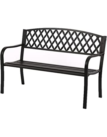 Astounding Amazon Com Benches Patio Seating Patio Lawn Garden Gmtry Best Dining Table And Chair Ideas Images Gmtryco