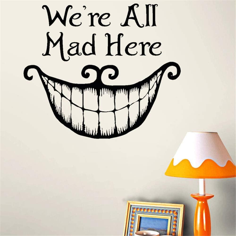 Amazon Com Siehu Alice In Wonderland We Re All Mad Here Vinyl