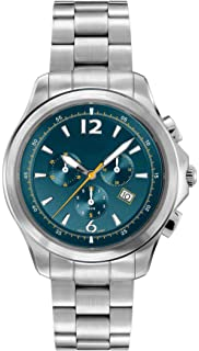 Belair Swiss Made Retrograde Mens 20 ATM Tourquoise Watch
