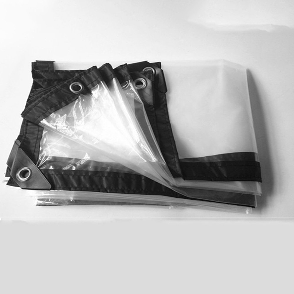 FEI Wasserdichte Plane Klar Transparent Dick Wasserdicht Tuch Kunststoff Tuch Fenster Winddicht Tuch Floral Regen Tuch Crop Grünhouse Film professionelle Deckung   Plane (größe   2×8m)