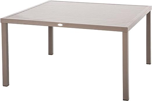 Hespéride Table de Jardin 8 Personnes Piazza - 136 x 136 cm ...