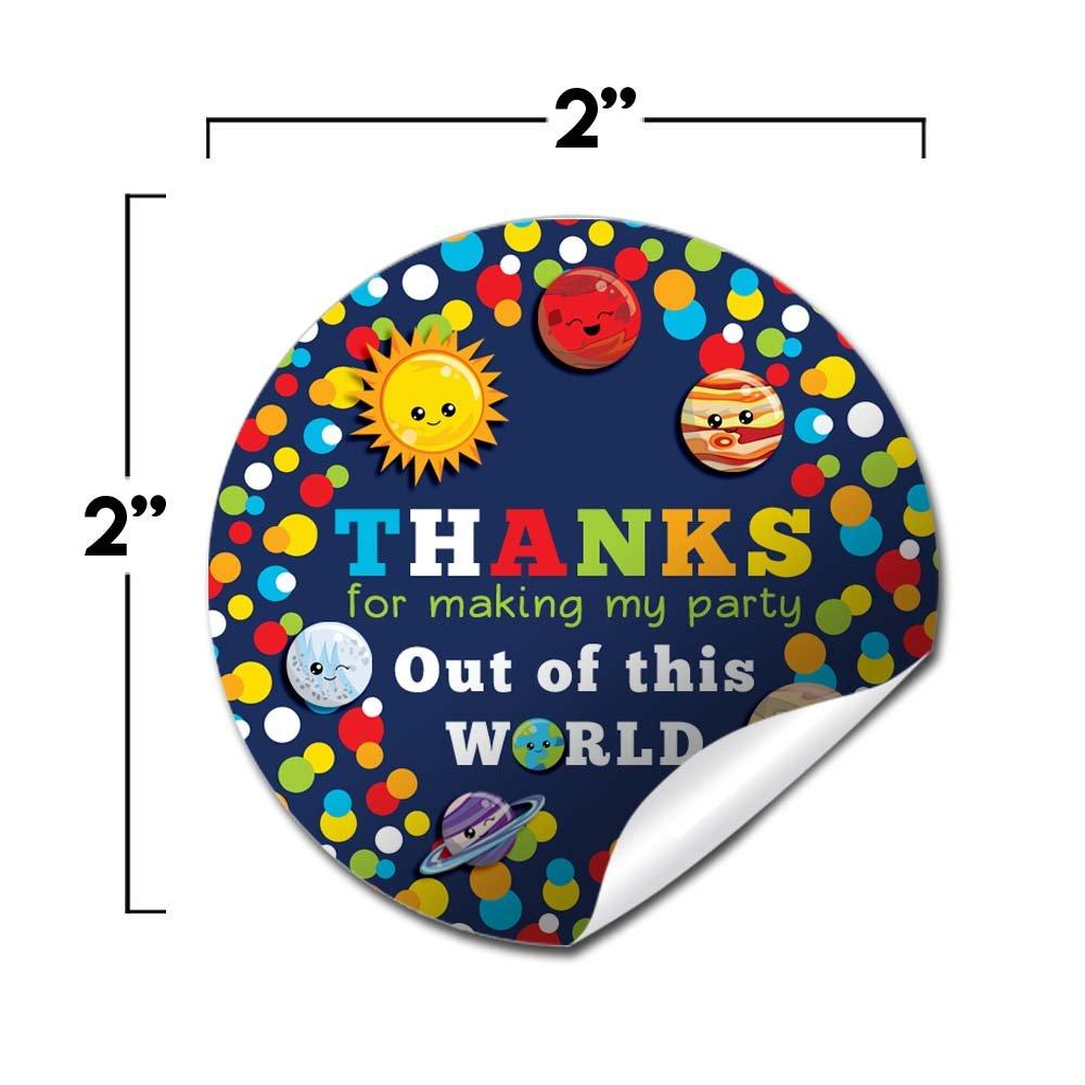 Amazon.com: Espacio exterior Happy planetas gracias fiesta ...