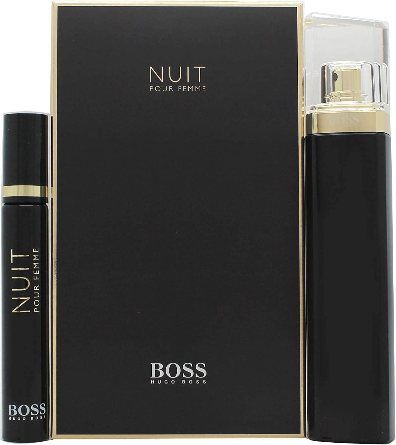 Hugo boss - Boss nuit edp 75 ml + edp 7.4 ml set regalo: Amazon.es: Belleza