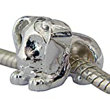 Bead Dog Silver Plated for pandora and troll bracelets by BodyTrend