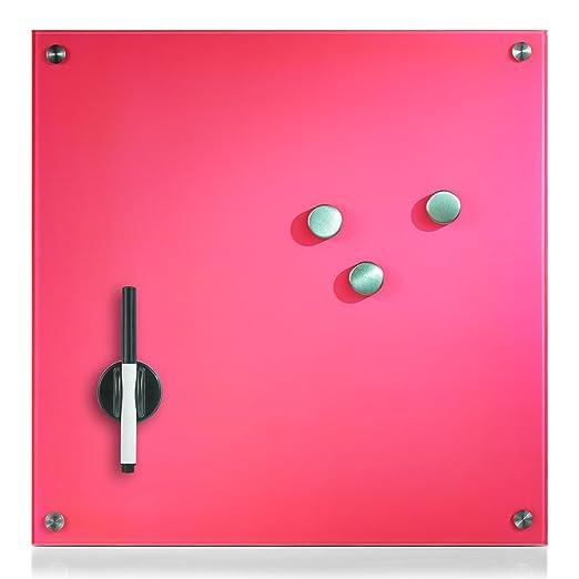 126 opinioni per Zeller 11651- Lavagnetta memo in vetro effetto legno, Pink, 40 x 40 cm