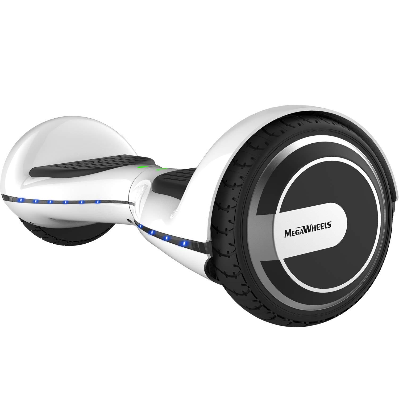 M MEGAWHEELS Patinete electrico, 6.5 Pulgadas con Bluetooth - 500W Motor Monopatin Electrico Self Balance Scooter.