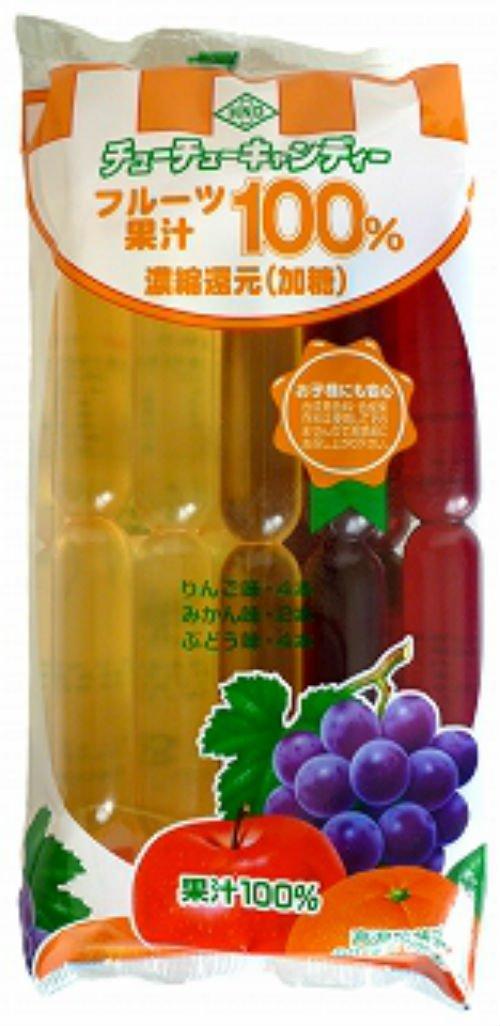 Hanada food fruit juice 100% (60ml X 10 present) X 15 bags