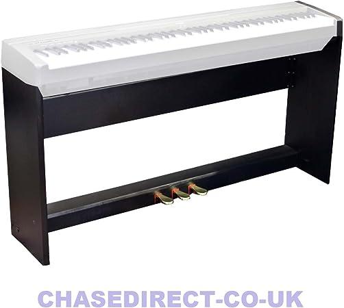 Soporte para teclado de madera y 3 pedales de guitarra para Casio PX-150 PX-350 Dgital Piano Privia
