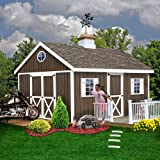 Best Barns Easton 12' X 20' Wood Shed Kit