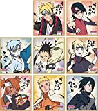 BORUTO Naruto Visual Signboard Shikishi Collection all 8 Box Japan