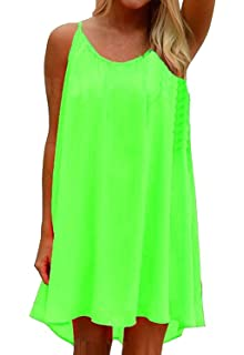 ddc111cfc6a56 Amstt Women's Summer Cover Up Dress for Swimwear Sexy Swimsuit Chiffon  Dress Bathing Suit Cover Ups