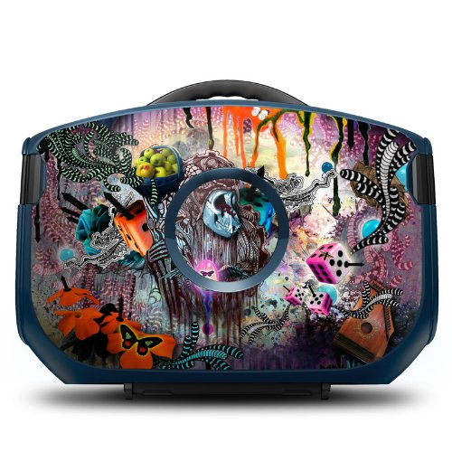 The Monk Design Protective Decal Skin Sticker (High Gloss Coating) for Decorating Gaems Vanguard Personal Gaming Carry Case (Console and Case NOT included)