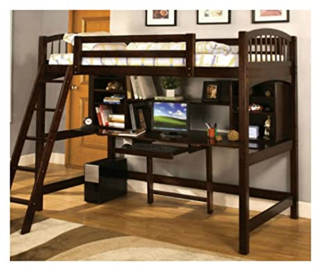 Twin Loft Bed   Workstation By Furniture Of America. Comfortable And Compact    Excelent Choice
