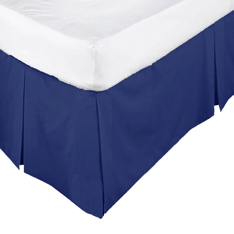 /•ROHILinen/•Luxury 68 Pick Navy Blue Single Base Valance sheet