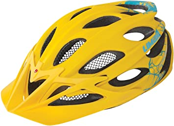 Limar Zubehoer Ultralight Plus MTB - Casco de ciclismo multiuso, color amarillo, talla L