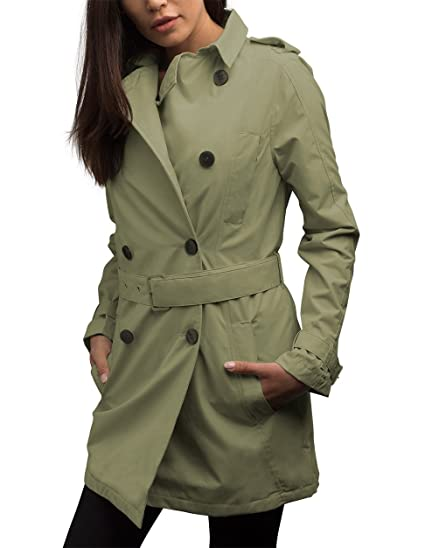 b9a37c1c89 SCOTTeVEST Women's Trench Coat - Travel Clothing, Trench & Rain Coats for  Women