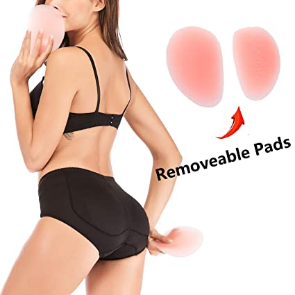 5c3e084e1a9 Amazon.com  DODOING Butt Pads for Women Butt Lifter Booty Lifter Hip  Enhancer Padded Underwear Silicone Fake Buttock Hip Boyshort Panties Body  Shaper  ...