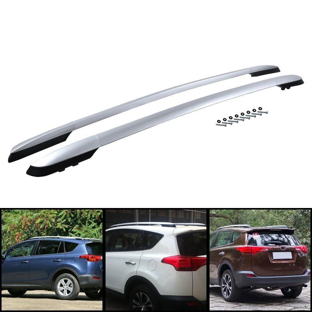 Aleació n de aluminio + Plá stico Barra portaequipajes techo portaequipajes para RAV4 Cuarta generació n 2013-2017 YUZHONGTIAN Auto Trims Co. Ltd