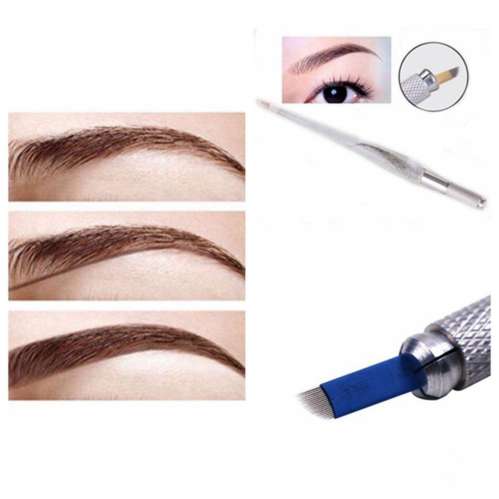 Amazon.com : New Fashion Permanent Make up Eyebrow Tattoo Pen ...