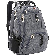 SwissGear 1900 Scansmart TSA Laptop Backpack - Grey Heather