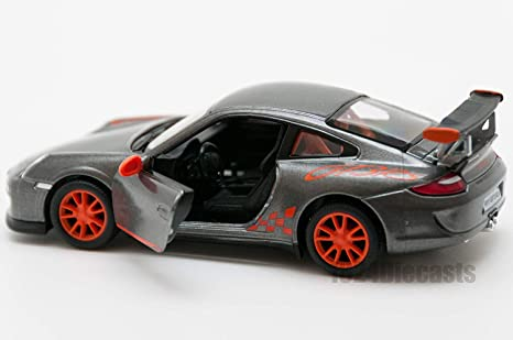 Amazon.com: Porsche 911 GT3 RS 1/36 Sclae Diecast Model Car - GREY: Toys & Games