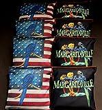USA PARROT HEAD MARGARITA TROPICAL 8 ACA Regulation Cornhole Bean Bags B165 B203