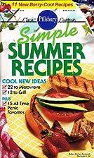 Pillsbury Classic Cookbooks: Simple Summer…