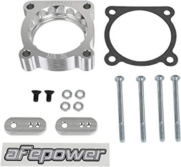 AFE Filters 46-38004 Silver Bullet Throttle Body Spacer