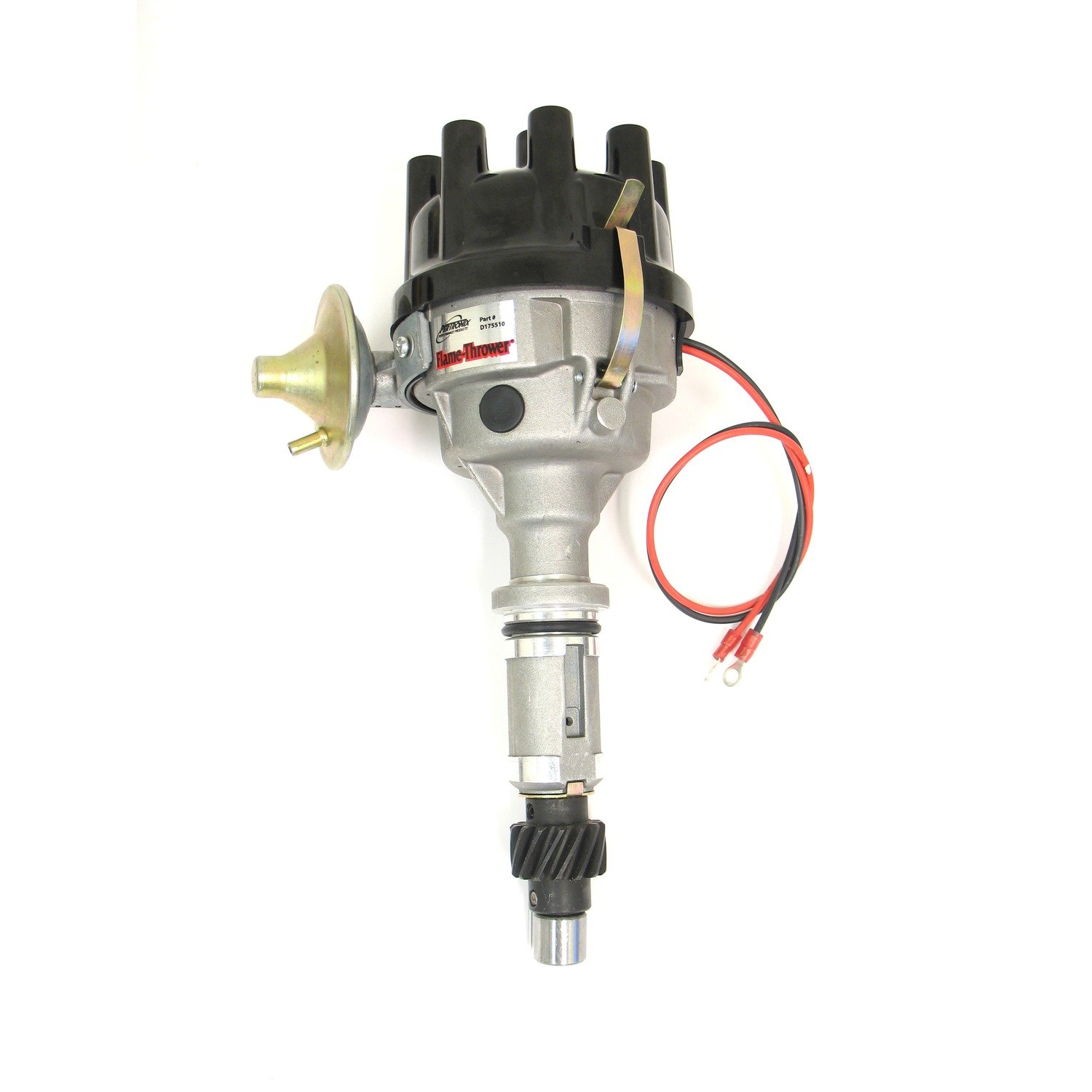 Pertronix D175510 Flame-Thrower Rover 8 cyl Plug and Play Vacuum Advance Cast Electronic Distributor with Ignitor Technology