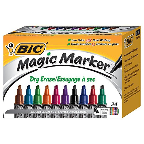 Magic Dry Erase Marker, Tank Chisel Tip 24-Count Box, Assorted (GELITP241-AST) Photo #2