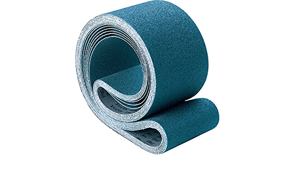 Pack of 10 Zirconia Alumina Z 80 Grit PFERD 49796 Benchstand Abrasive Belt 60 Length x 2 Width