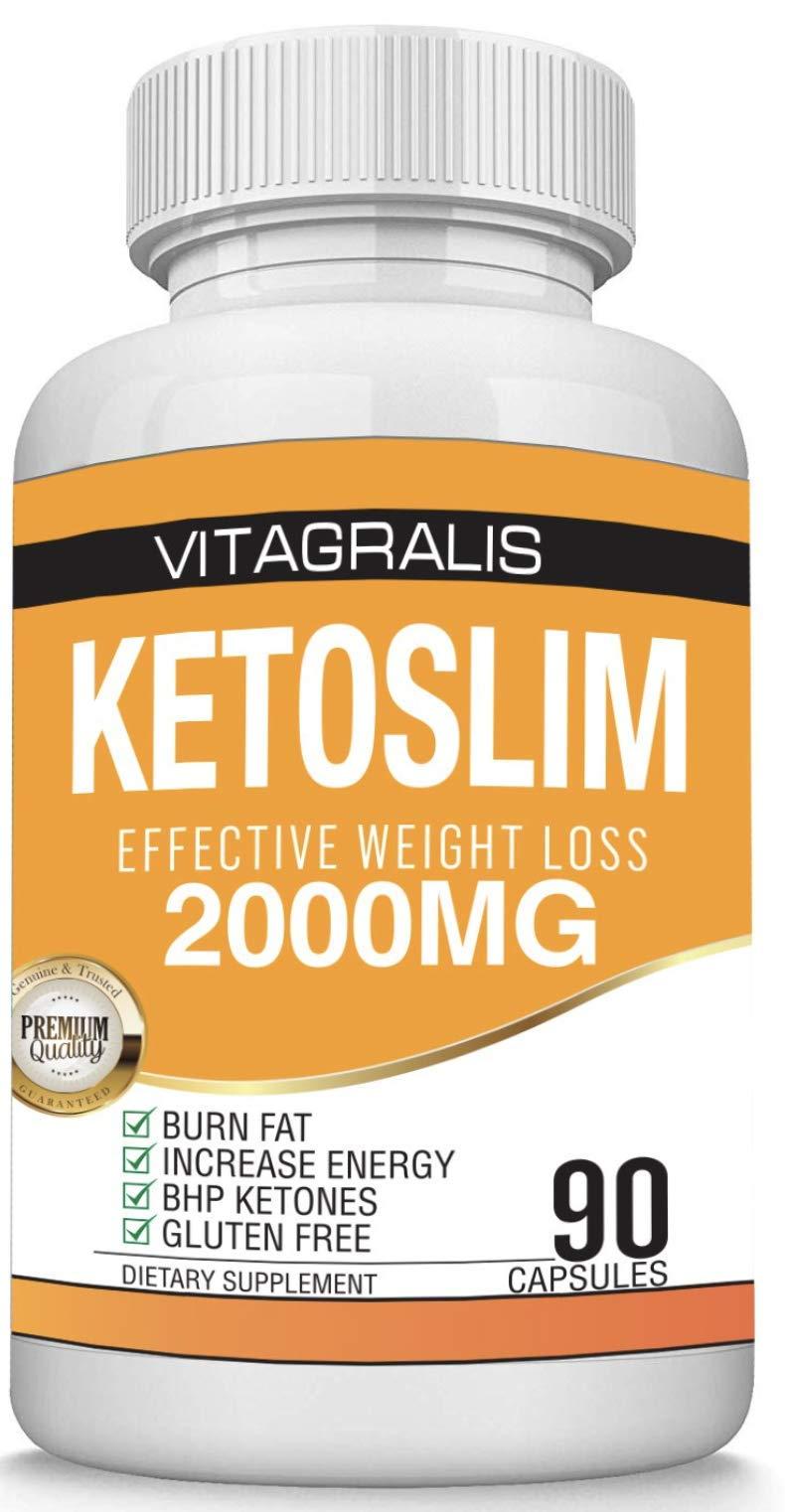 Keto Pills - Advanced Ketosis Weight Loss - Premium Keto Diet Pills - Burn Fat for Energy not Carbs