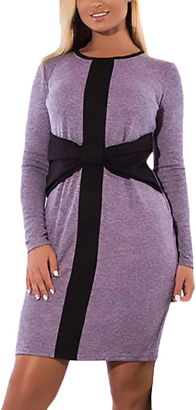 Damen Kleider Kurz Für Mollige Große Größen Wickelkleid Elegant