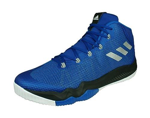 new product 17dca e04b5 Adidas Crazy Hustle, Zapatos de Baloncesto para Hombre, Azul  (ReauniPlametAzul), 50 EU Amazon.es Zapatos y complementos