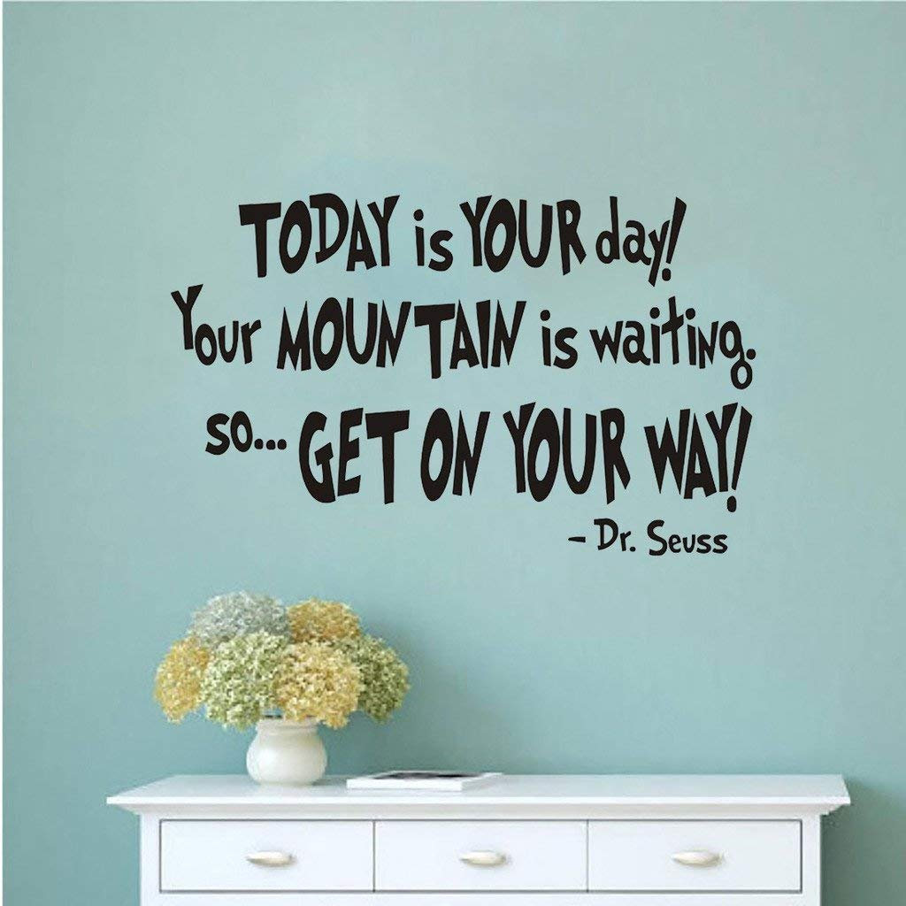 Nykkola Dr Seuss Today You Are You Wall Art Vinyl Decals Stickers