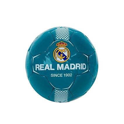 REAL-MADRID BALON N10 PEQUEÑO AZUL P-B: Amazon.es: Deportes y aire ...