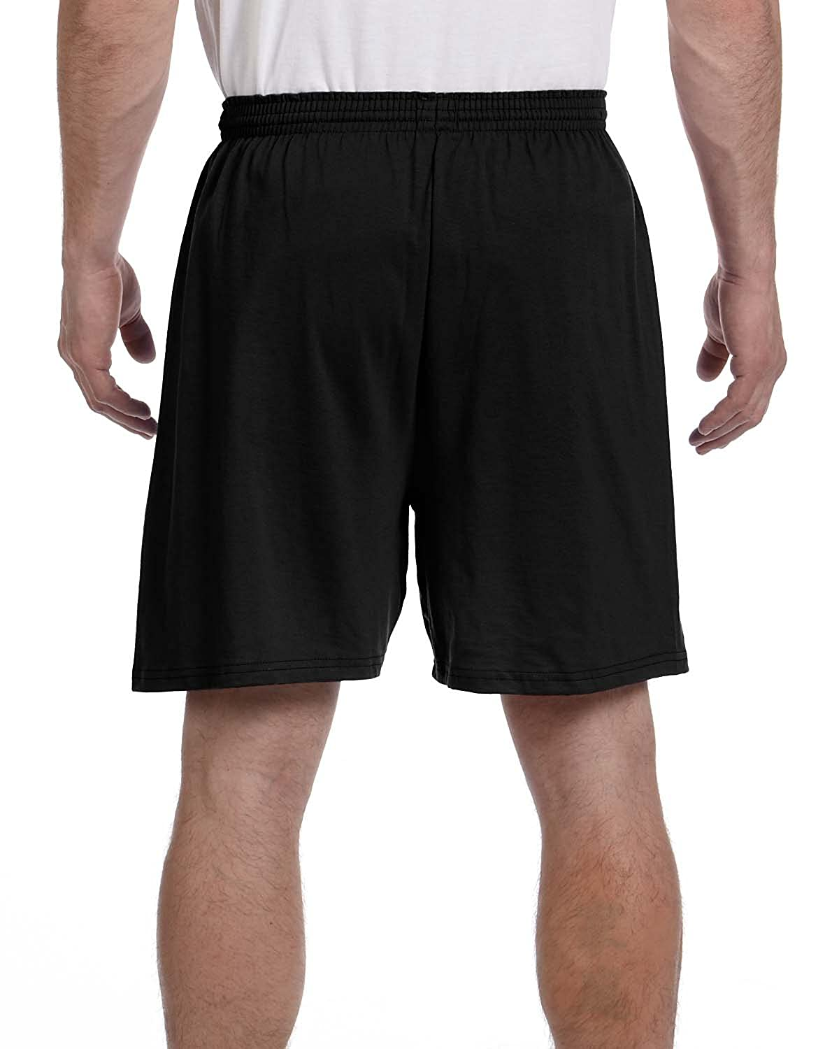 7ba017d7650 Champion 6.1 oz. Cotton Jersey Shorts 6.1 oz. Cotton Jersey at Amazon Men s  Clothing store  Athletic Shorts