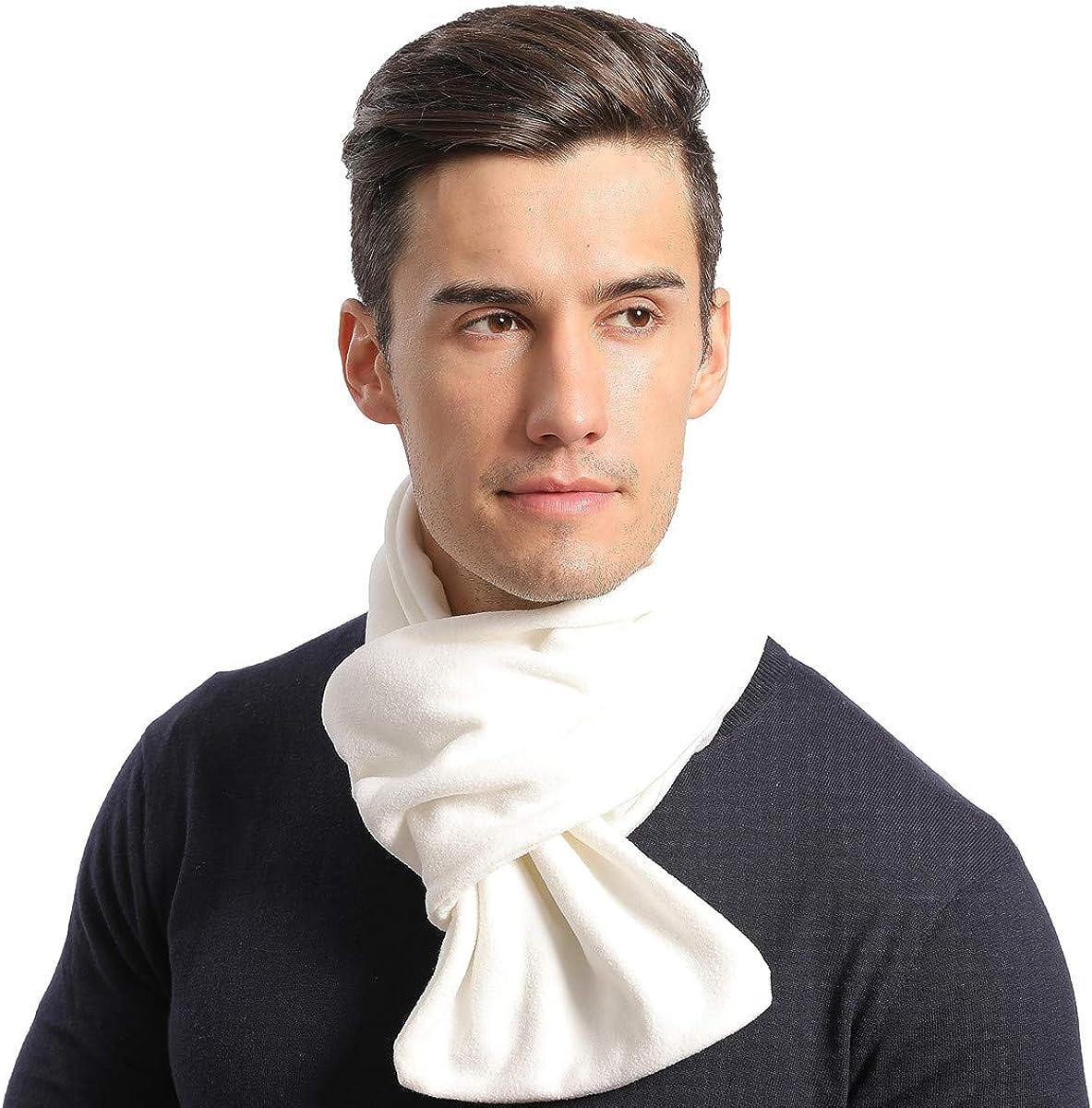NovForth Neck Warmer Scarf Snoods for Men Women Scarves Unisex Thermal Windproof with Super Soft Polar Fleece Elegant Gift