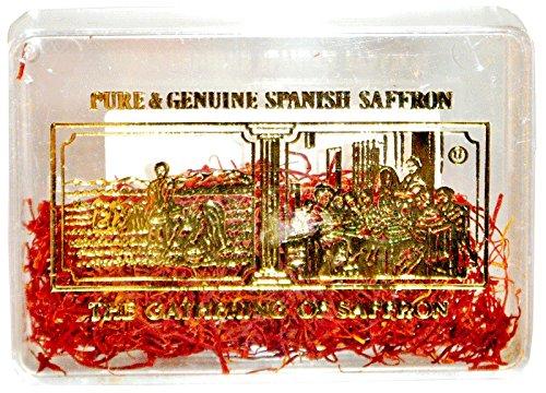 The Gathering of Saffron Pure Spanish Saffron, 1 Gram (Pack of 12) by The Gathering of Saffron