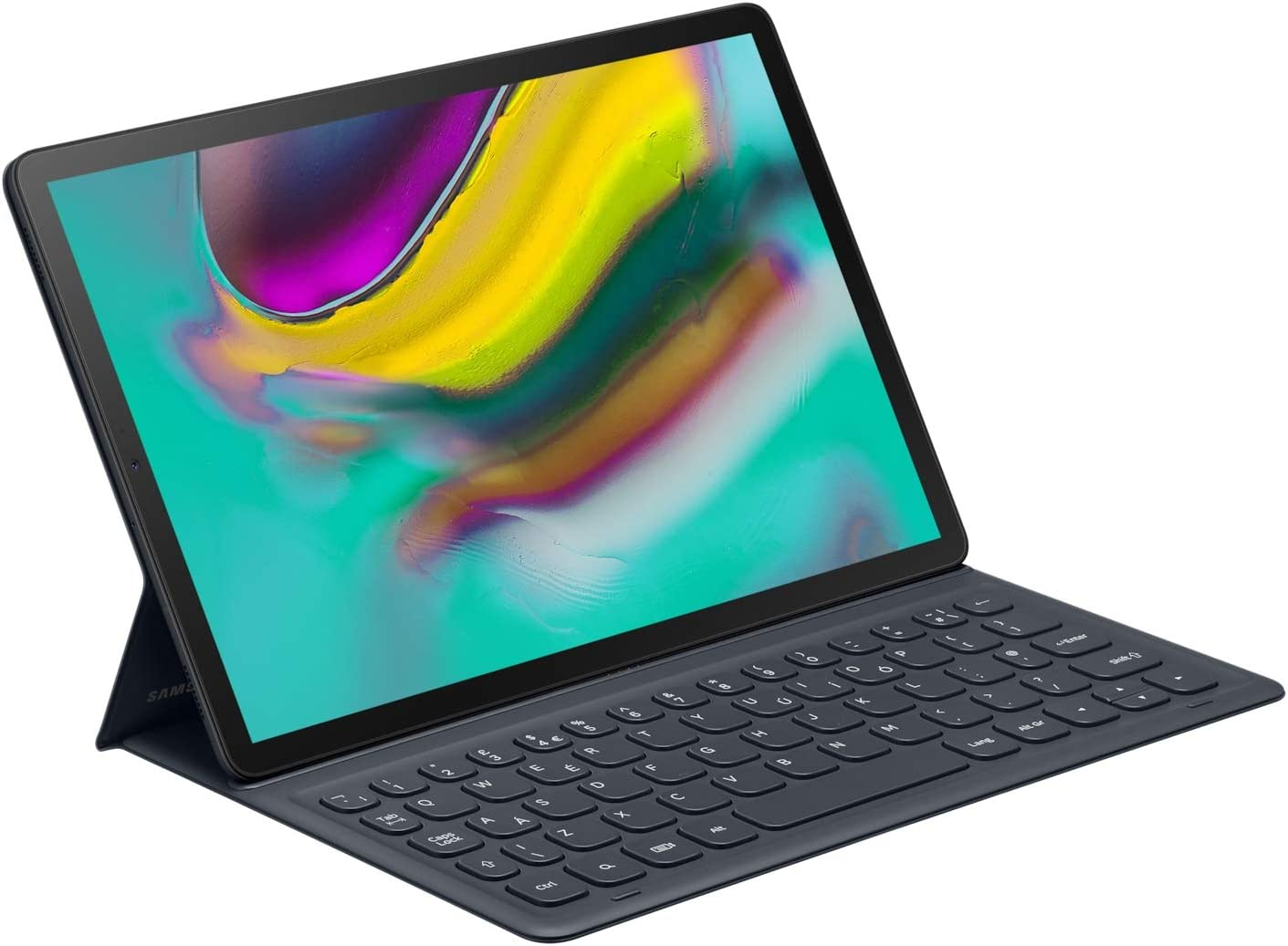 Black Samsung Official Book Cover Keyboard Folio Case for Samsung Galaxy Tab S5e