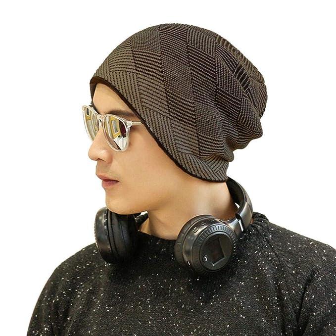 Celucke Beanie Herren Frauen Ski Strickmützen Caps Hüte Warm