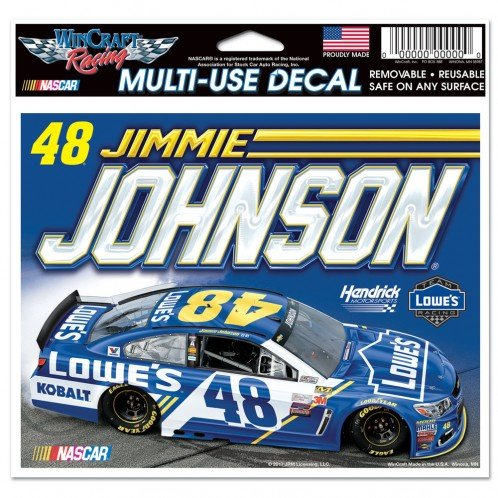 Jimmie Johnson Driver Car Decals