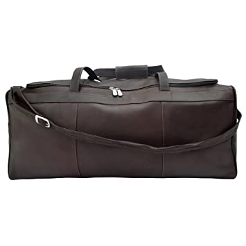 Piel Leather Grand Sac Duffel, Noir, Taille