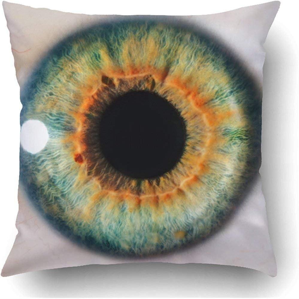Staropor Throw Pillow Covers Green Iris