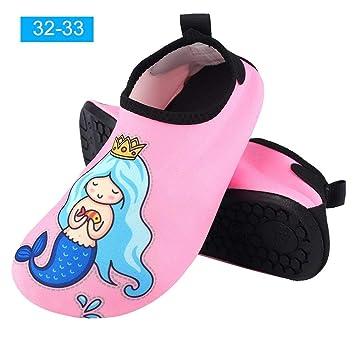 VGEBY1 Calzado de natación, Calzado acuático para niños ...