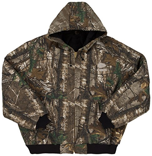 Quilt Lined Hooded Jacket - 1