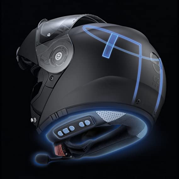 Amazon.com: Schuberth SRC-PRO Communication System For C3 Pro Helmet, L: Automotive