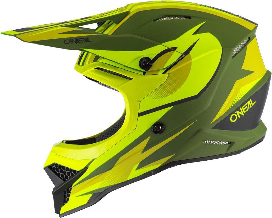ONEAL 3 Series Riff 2.0 Motocross Enduro MTB Helm gelb//gr/ün 2020 Oneal 53-54cm Gr/ö/ße XS