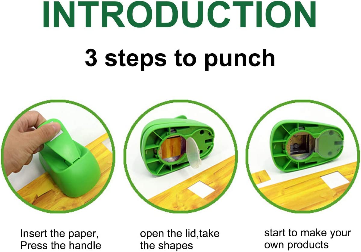 Circle Punch 1.5 inch Craft Lever Punch Handmade Paper Punch 1.5 inch Circle Punch